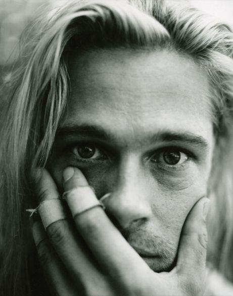 Brad Pitt by Peggy Sirota, Premiere, October 1994