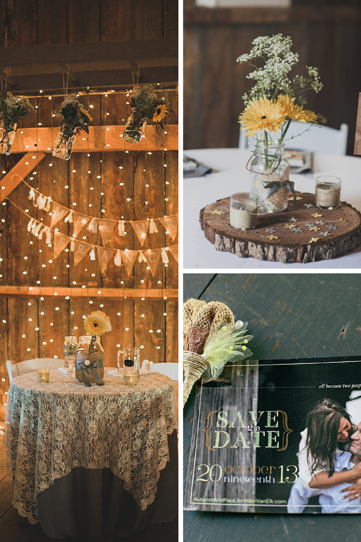 24 Ways To Throw A Spectacular Country-Themed Wedding #Wedding #Country #Ideas