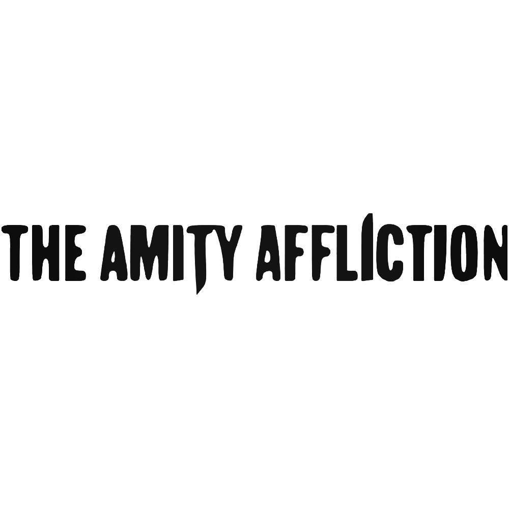 The amity affliction band logo vinyl decal sticker ballzbeatz com