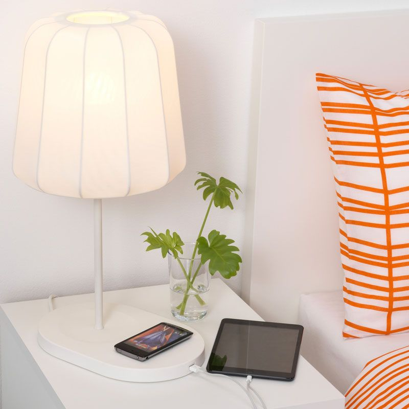 12 bedside table lamps to dress up your bedroom varv table lamp from ikea · bedroom lightingsmall space furniturehome