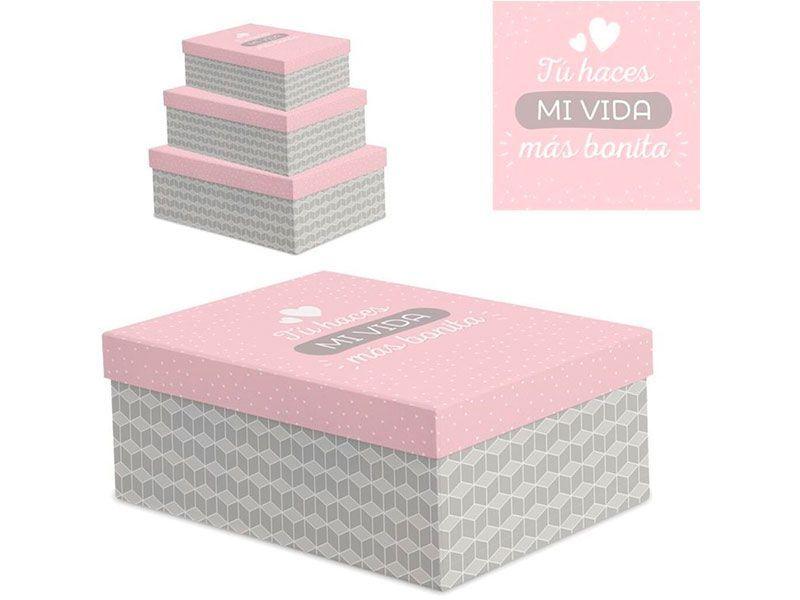 Caja De Carton Mi Vida Https Www Catayhome Es Categoria Cajas