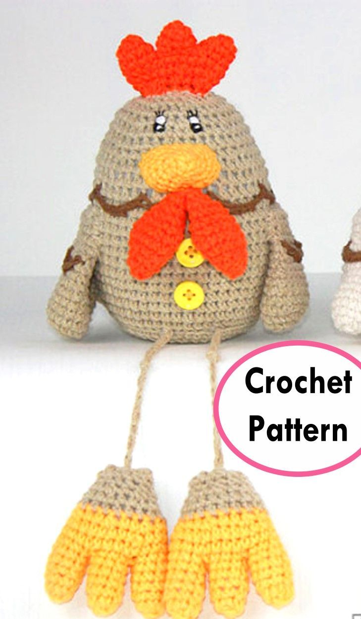 Easter Chick & Chicken Crochet Pattern Roundup!   Pinterest ...