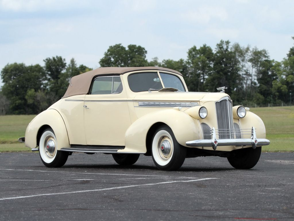 1940 Packard 120 Convertible Coupe (1801-1399) | Automobiles ...