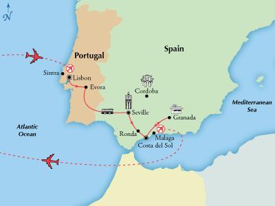 9 Day Affordable Portugal Spain Visit Cordoba Lisbon Seville