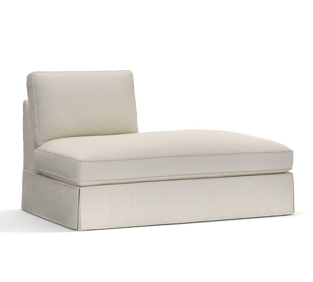 pb comfort roll arm left arm chaise slipcover box edge organic rh pinterest com