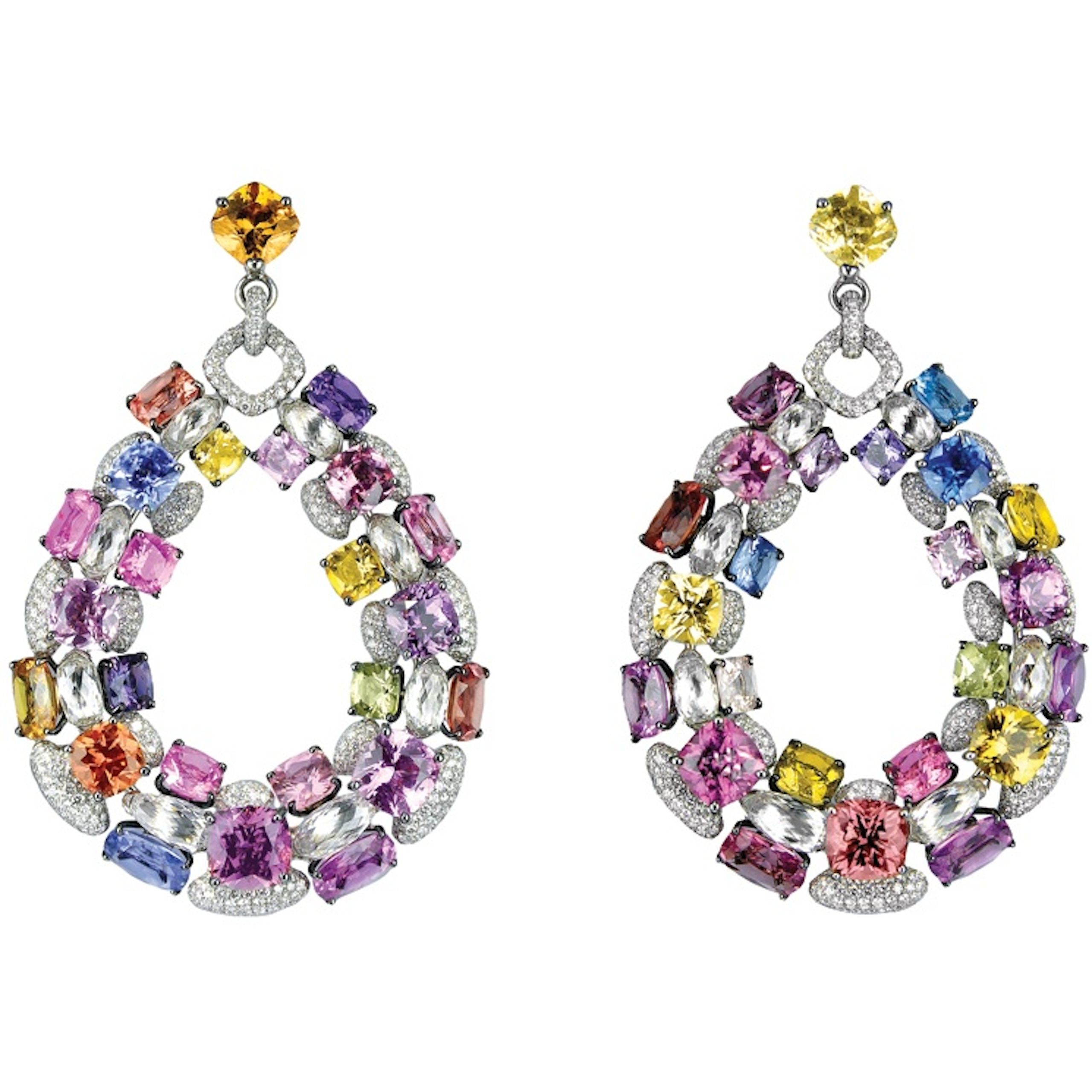 x co online christie christies s earrings picasso multi jewels gem nyr paloma tiffany