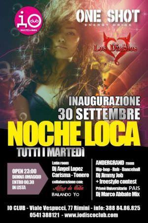 Noche Loca edizione 2014 tutti i martedì! http://ow.ly/BTFGJ
