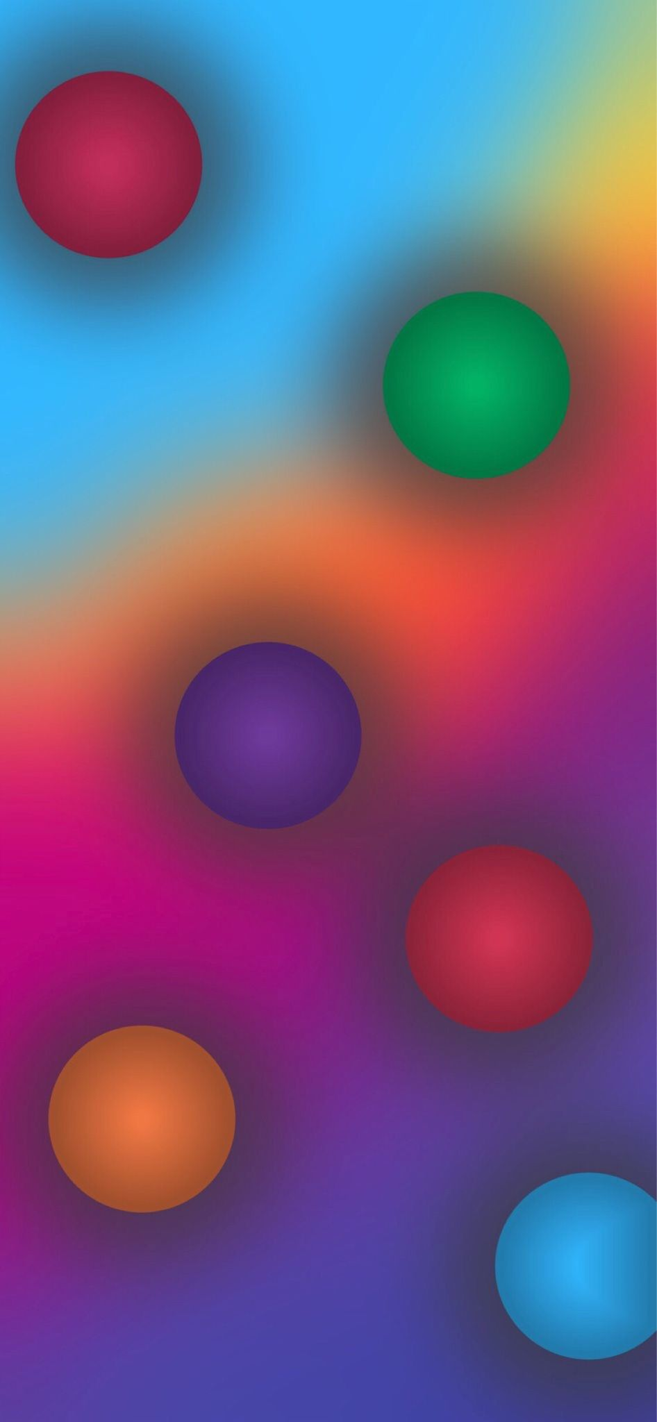 Beautiful Pictures Dots Rainbow Wallpaper Bubbles Wallpaper Colorful Wallpaper