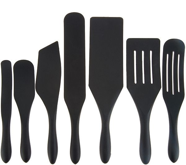 Mad Hungry 7 Piece Multi Use Silicone Spurtle Set Qvc