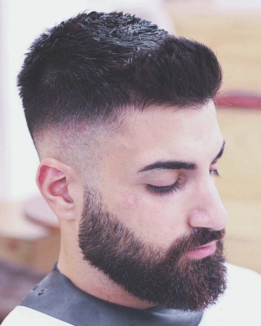 Mens Hairstyle And Beard Top 30 Cool Beard Styles For Men In 2018  Pinterest  Beard Styles