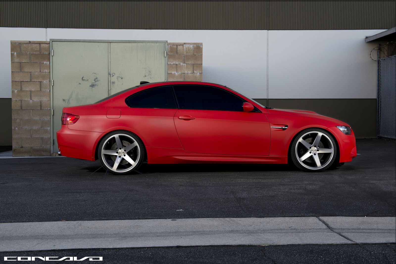 Matte red bmw e92 m3 looks brilliant autoevolution