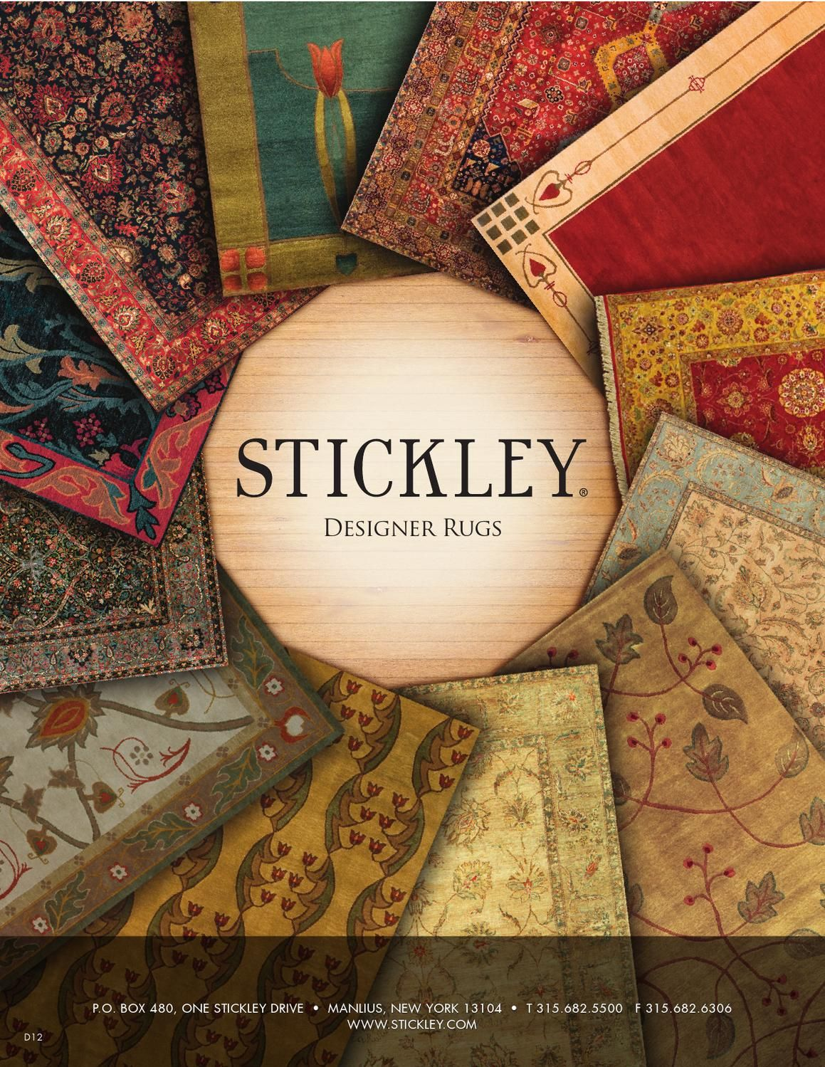 ISSUU   Stickley Designer Rugs Collection By Stickley