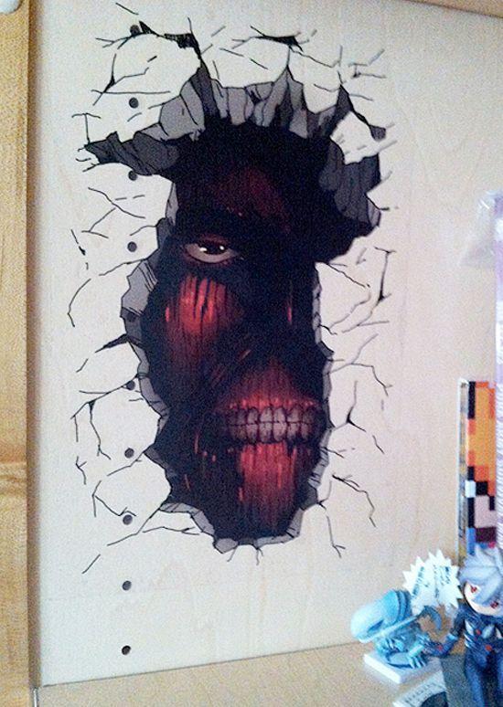 Image Result For Attack On Titan Room Decor Anime Decor Attack On Titan Art Otaku Room