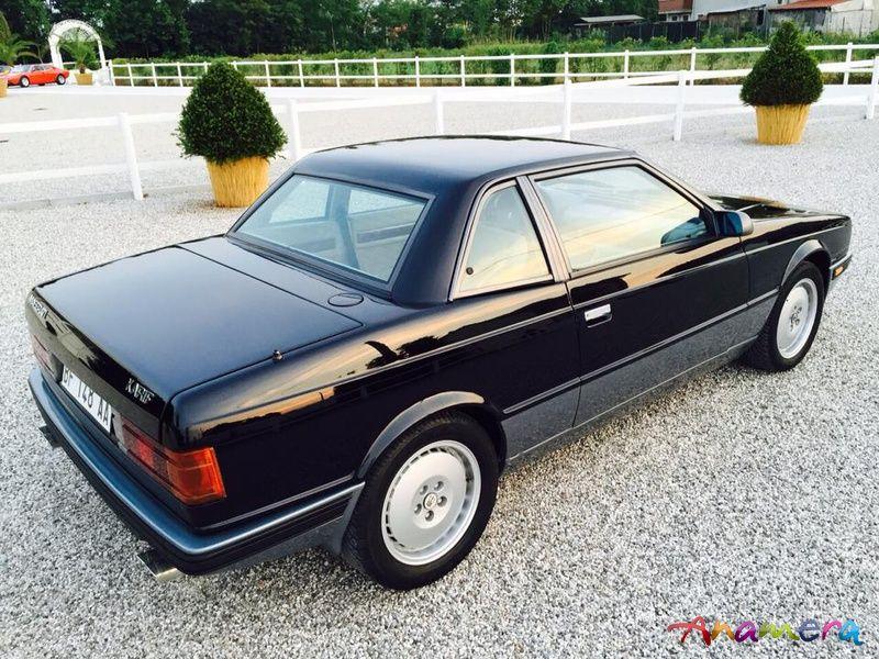 1989/7 Maserati Karif (Tipo 339) BiTurbo Coupe   Maserati ...