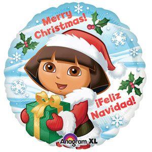 """18"""" Dora Christmas"""