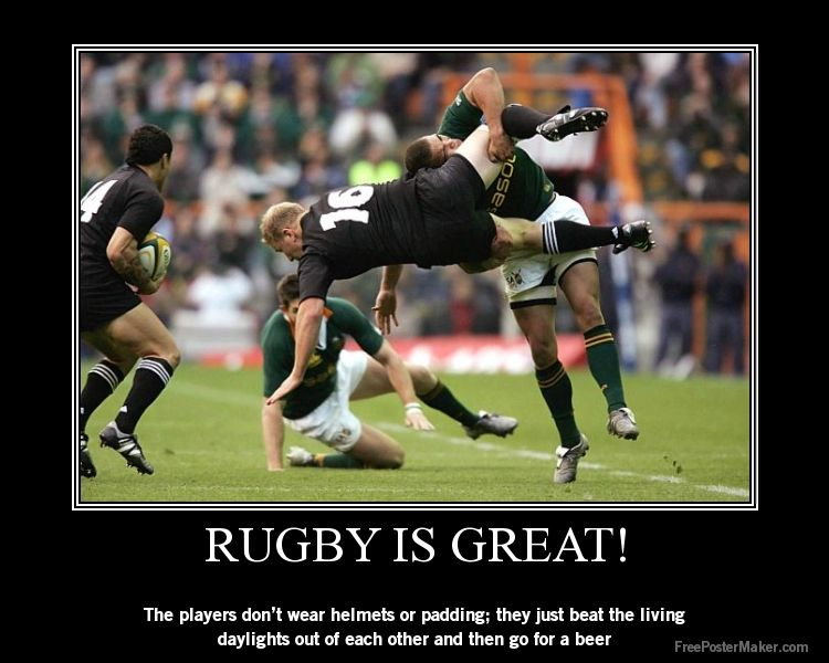The Main Rule Of Rugby A Beer Afterwards Rugby Memes Rugby Quotes Springbok Rugby