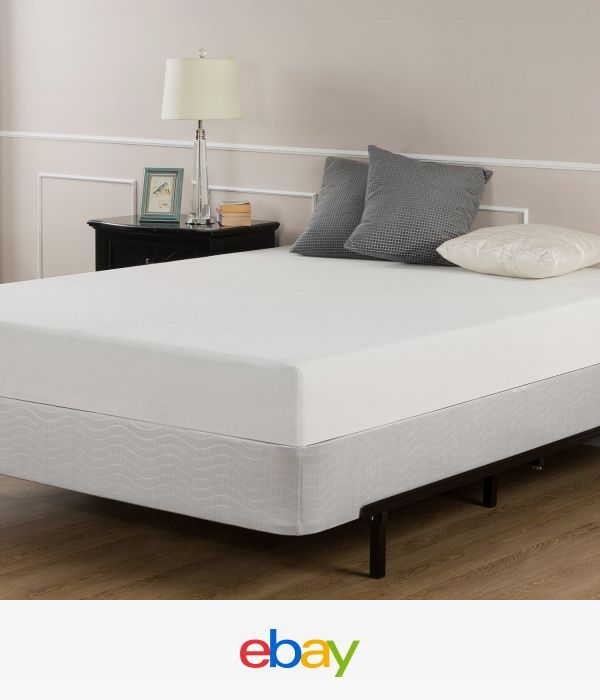 6-Inch Queen-Size Memory Foam Mattress And Box Spring Set
