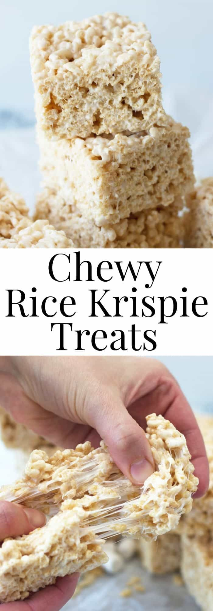 Chewy Rice Krispie Treats #crispytreats