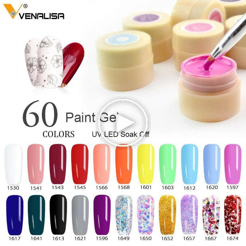 Venalisa Nail Gel Miroir Pigment Polonais Poudre 2020 27 Couleurs Produit Recent Nail Art Vernis A In 2020 Gel Lacquer Nail Art Salon Gel Nails