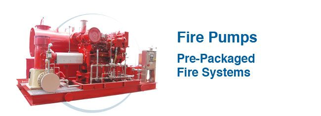 Fire Pumps With Electrical Motor For Jockey Pumps Which Helps To