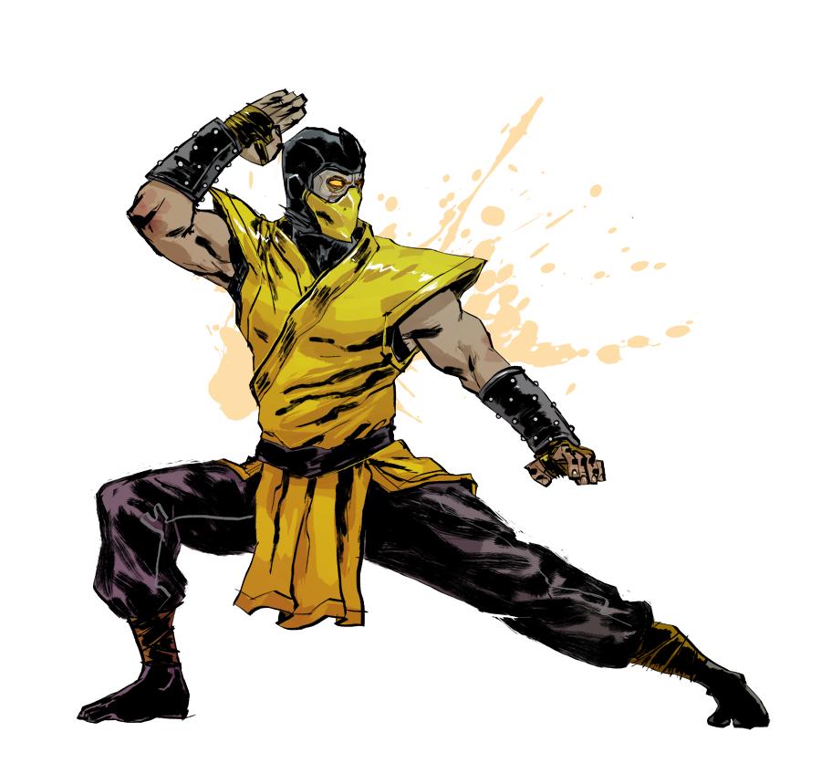 Scorpion Commission Sample By Anjinanhut On Deviantart Mortal Kombat Scorpion Mortal Kombat Mortal Kombat Characters