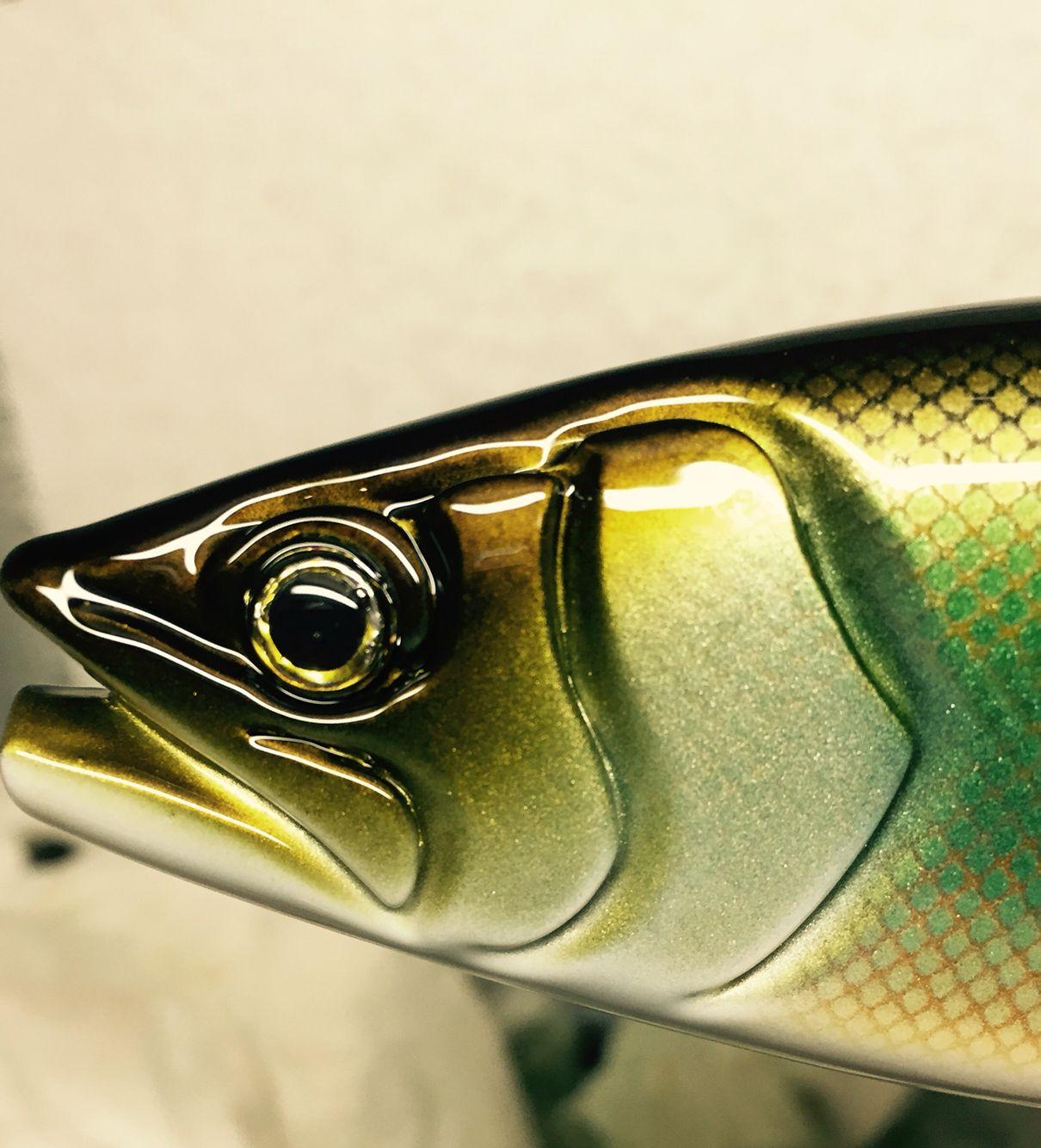 Bass Fishing Nicolao Woodwork Handmade Swimbait