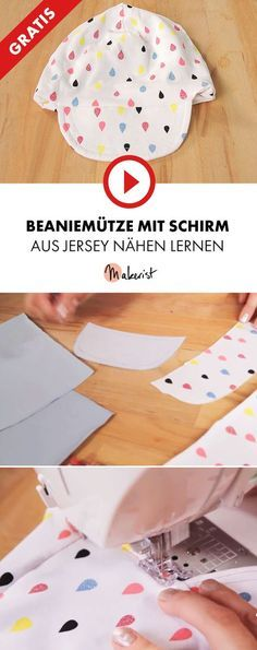 beaniem tze aus jersey f r kinder n hen lernen makerist auf youtube n henmitmakerist n hen. Black Bedroom Furniture Sets. Home Design Ideas