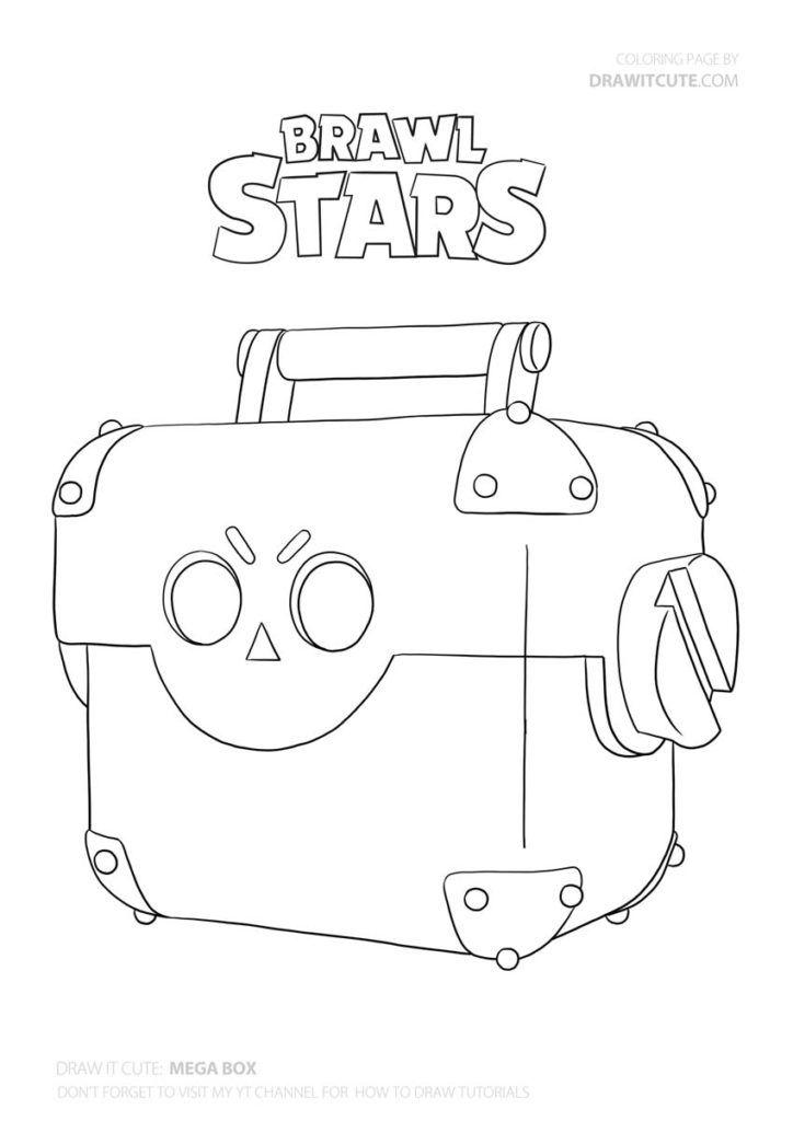How to Draw Mega Box super easy | Книжка-раскраска ...