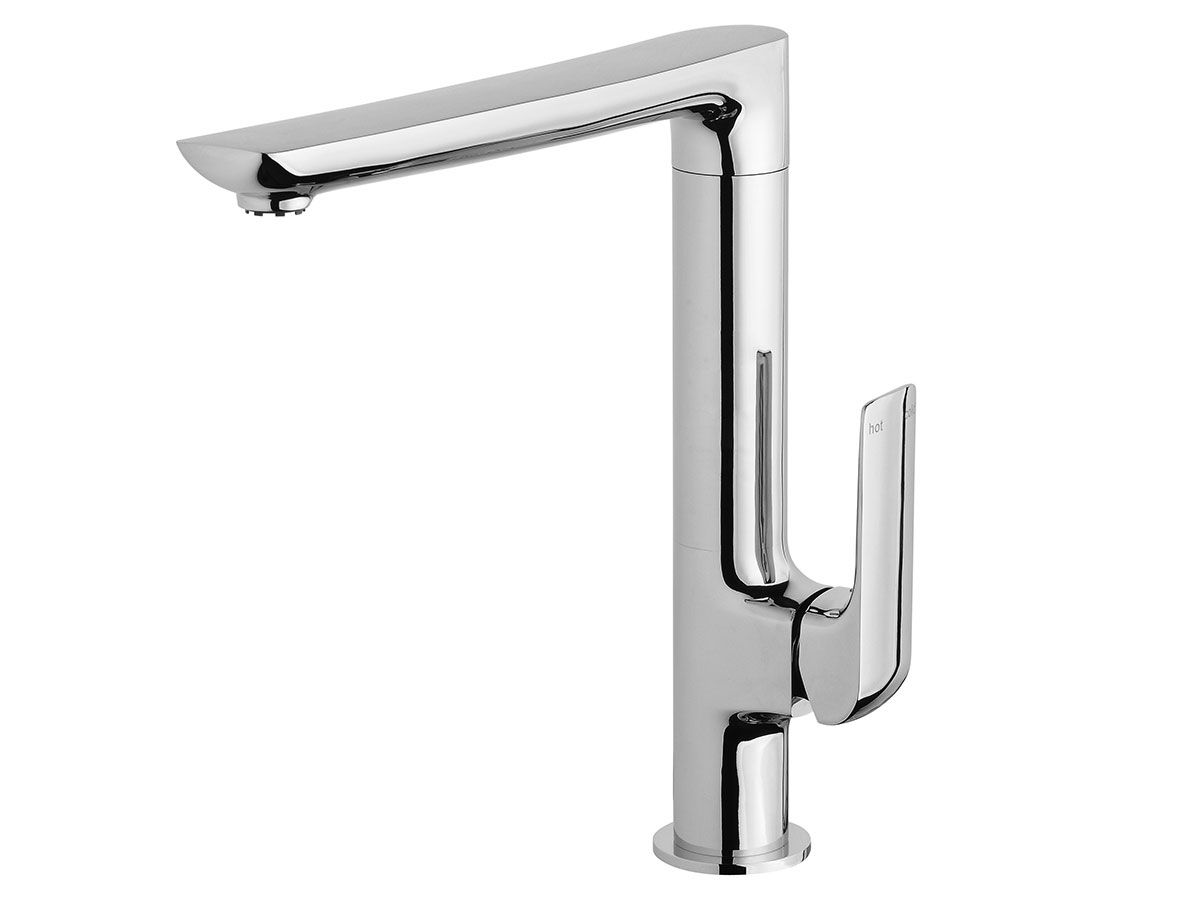 The milli glance wall basin mixer set is captivating from the first - Milli Glance Sink Mixer From Reece