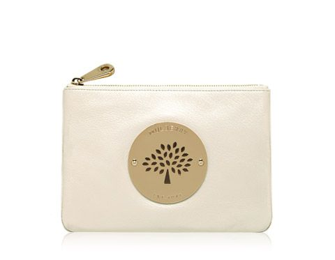 Mulberry - Daria Pouch in Pear Sorbet Soft Spongy Leather  f0c5152b6e006