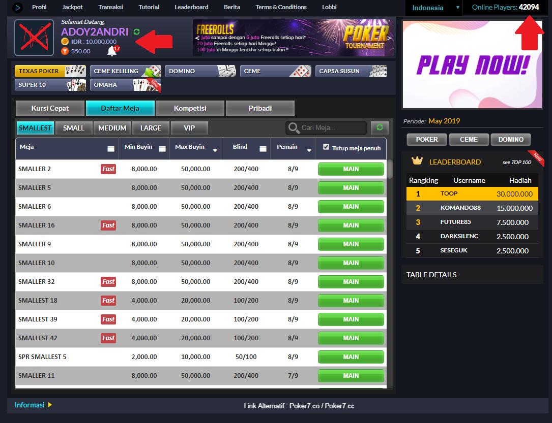 Situs Ini 100 Dapat Menghasilkan Uang Poker Uang Indonesia
