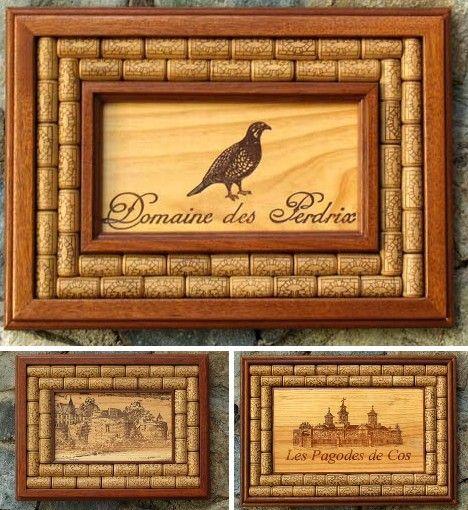 Preciosos cuadros decorados con tapones de corcho for Cuadros con corchos