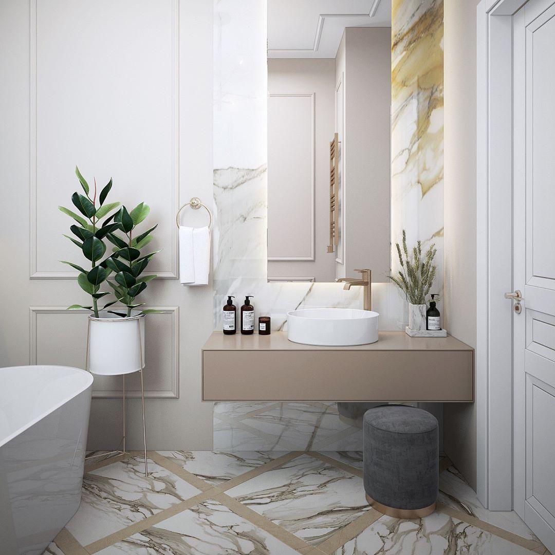 Russian Contemporary Apartment With Boca Do Lobo By Ekaterina Lashmano Contemporary Apartment Bathroom Design Interior Design Projects