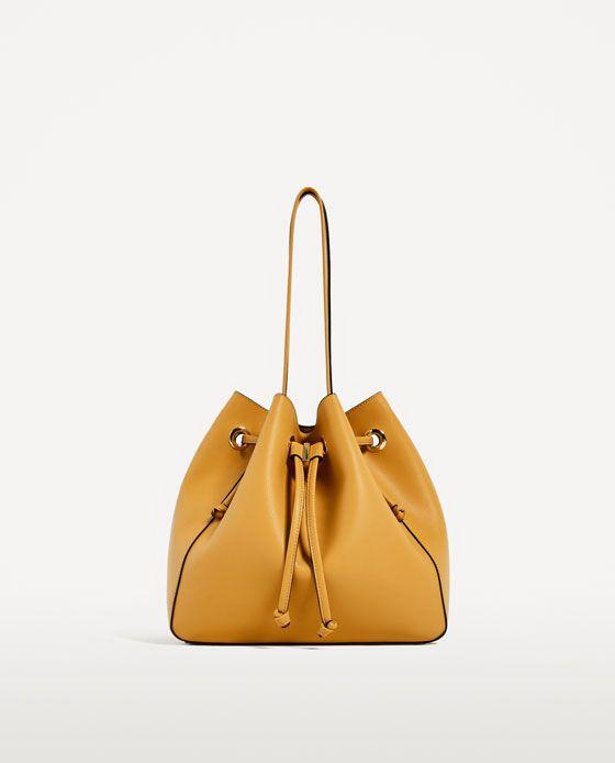 Image 2 Of Convertible Bucket Bag From Zara Bucket Bag Vaskor Zara