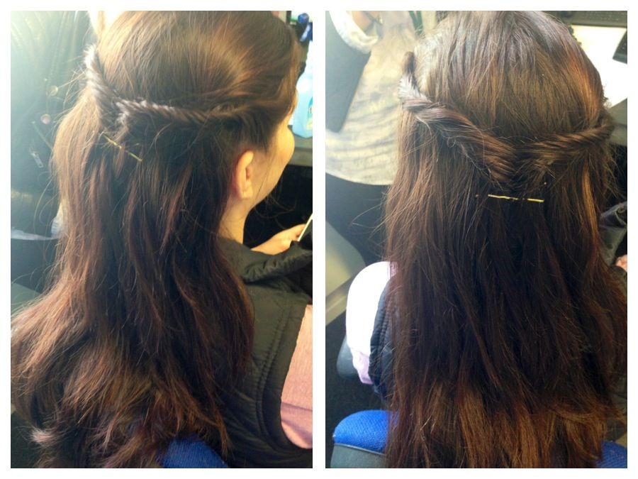 simple medieval princess hair
