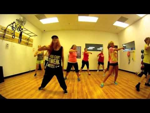 Locked Out Of Heaven Bruno Mars Zumba With Mallory Hotmess Youtube