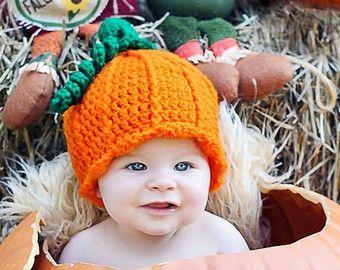 Pumpkin Patch Outfit - Newborn Halloween Costume - Pumpkin Hat - Baby Costume - Newborn Pumpkin  sc 1 st  Pinterest & Pumpkin Patch Outfit - Newborn Halloween Costume - Pumpkin Hat ...