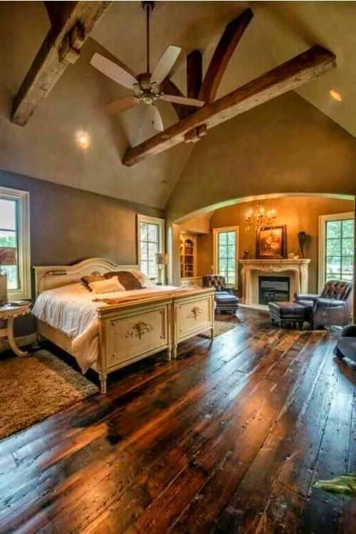 Rustic Italian Decor #rusticitaliandecor House/home Been having dreams about a house with this bedroom for 5 years! #RusticItalianDecor #rusticitaliandecor