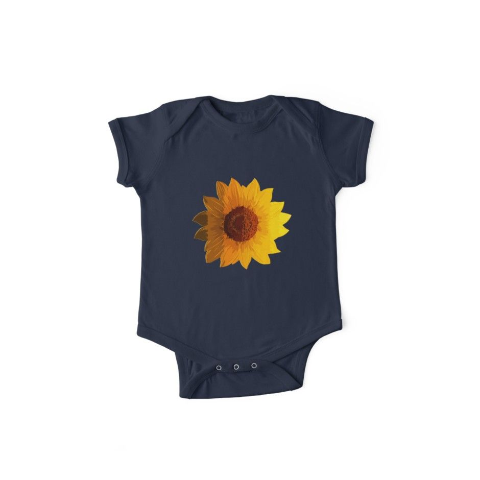 Sunflower portrait in shades of yellow' Kids Clothes by jodirm is part of Yellow Clothes Unique - One of my favorite flowers…the majestic sunflower! Just what you need to brighten up any day  • Also buy this artwork on apparel, stickers, phone cases, and more