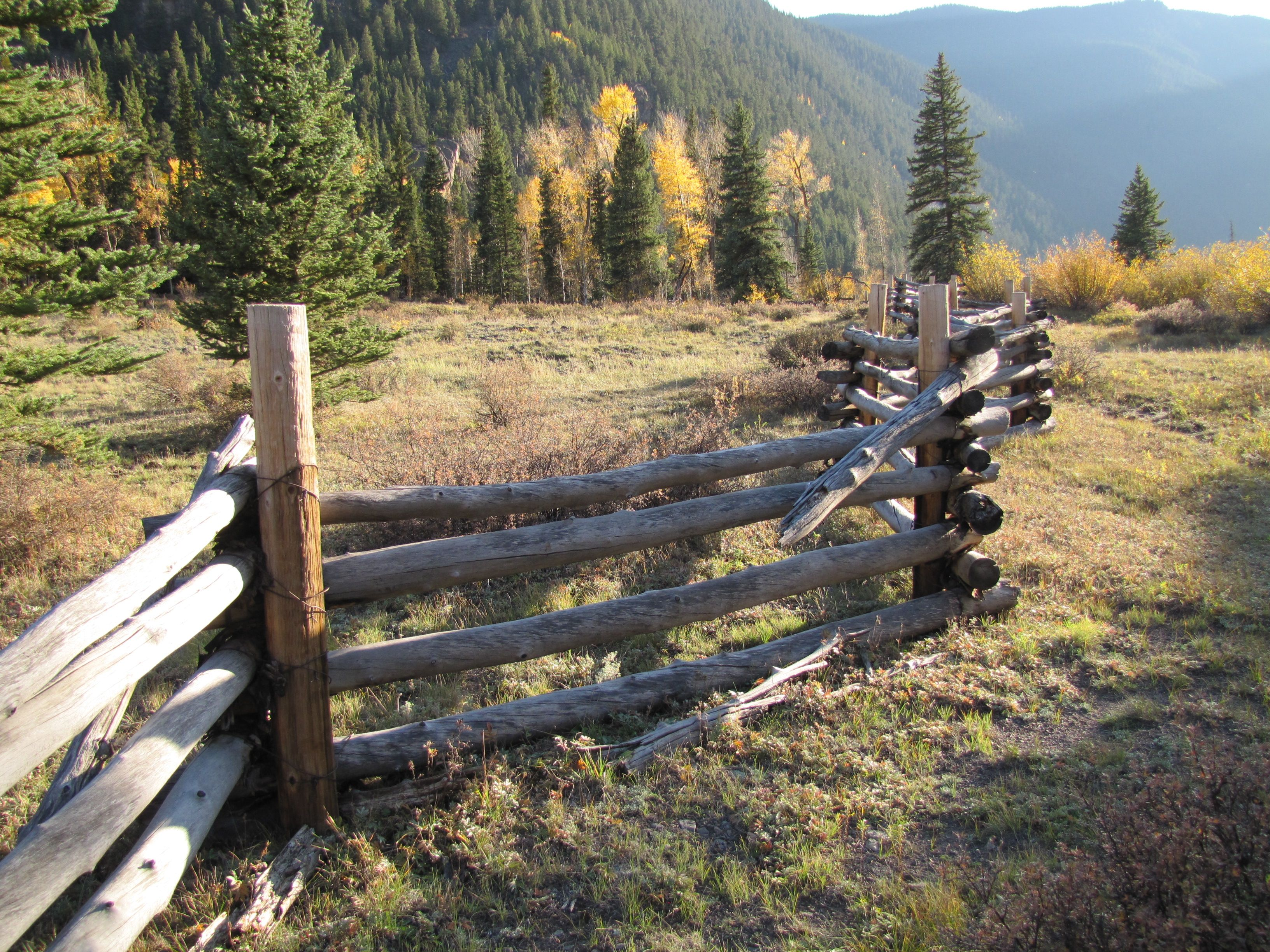 Nothing Says American West Like A Rail Fence In Colorado Www