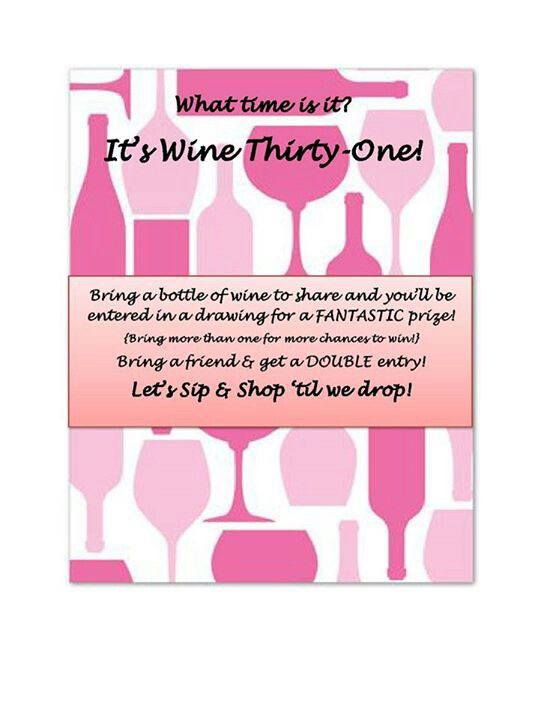Wine Party Invite Thirty One Gifts Pinterest Wine Parties