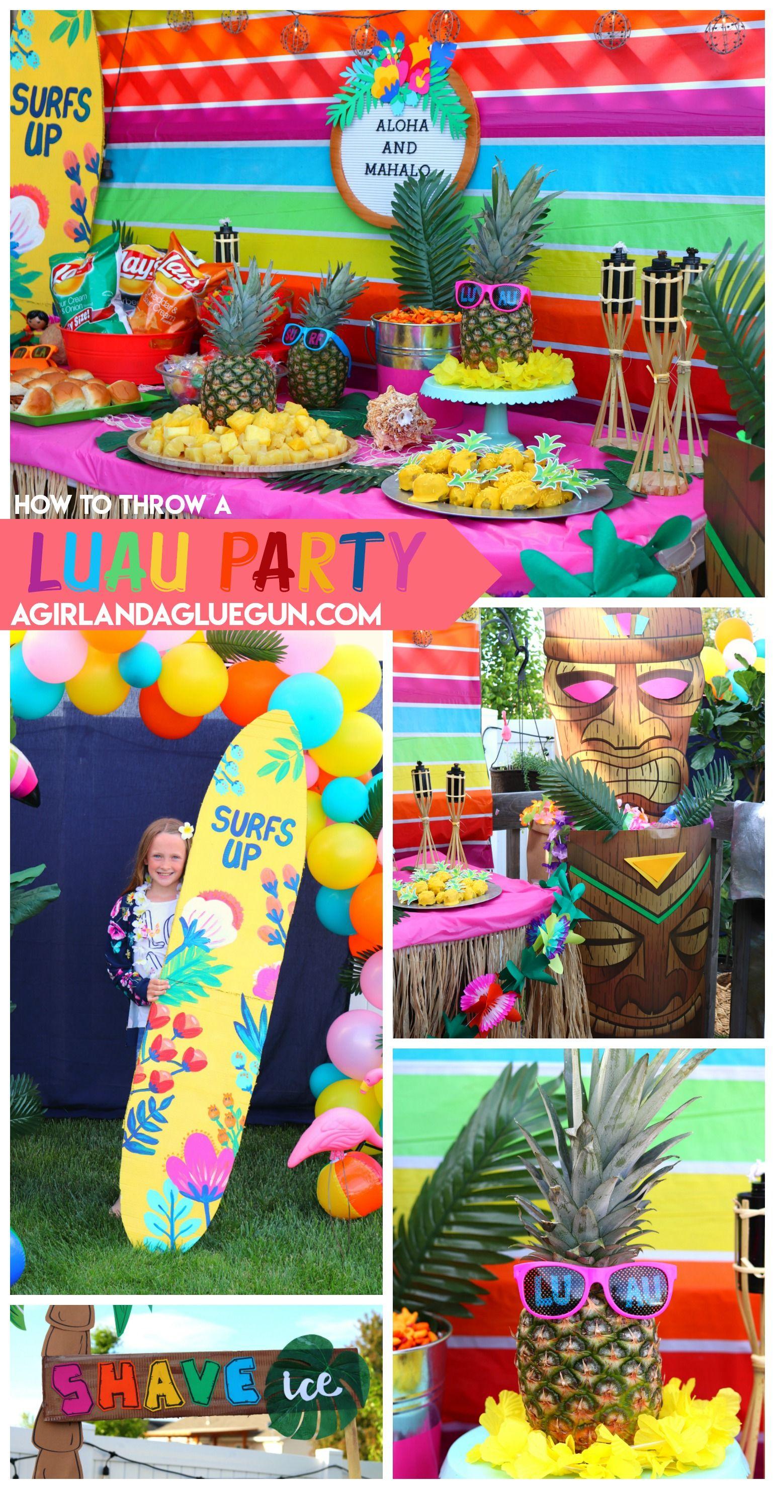 Luau Party | Party Ideas | Kids luau parties, Luau party