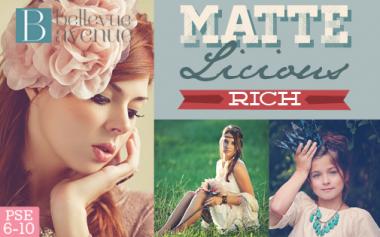 Bellevue Avenue Store - Matte-Licious (Rich)™ Photoshop Elements Actions, $38.00 (http://www.bellevue-avenue.com/matte-licious-rich-photoshop-elements-actions/)