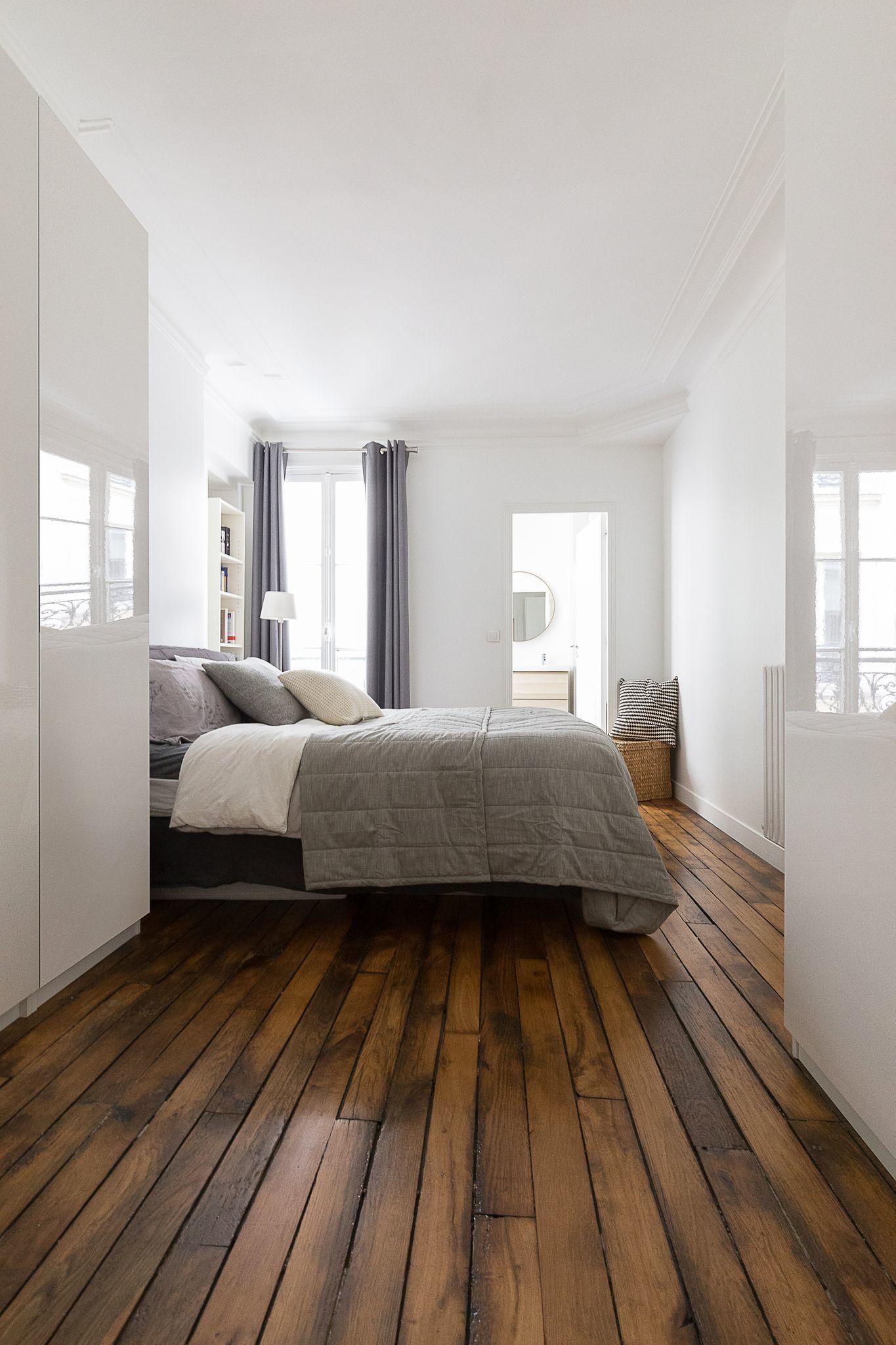Déco chambre blanche : idées pour la réchauffer  Deco chambre