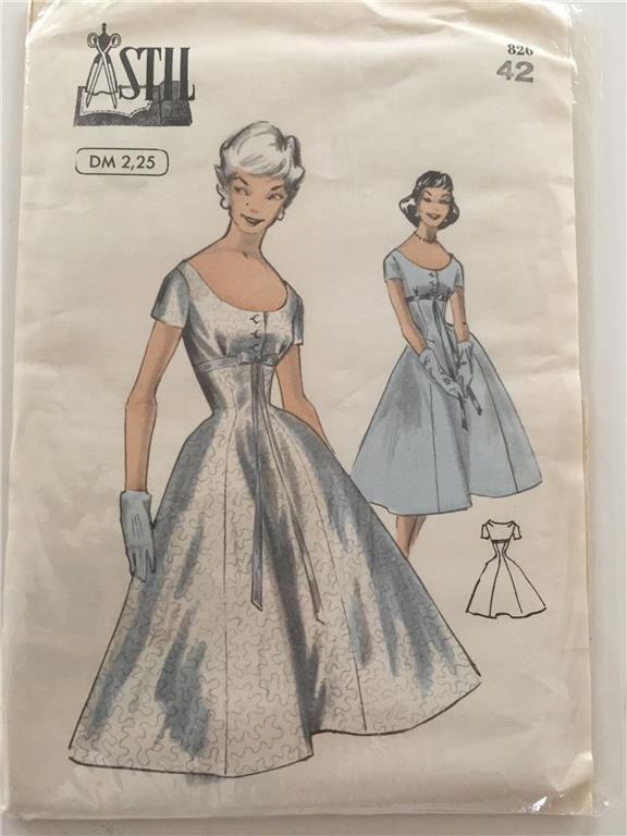 mönster till rockabilly klänning