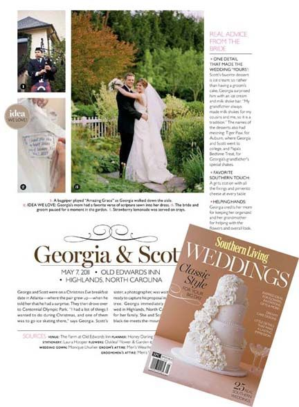 Monde Design Wedding Dress Label An Idea We Love Item In Southern Living Weddings Magazine Mondedesign Com Mondede Wedding Classic Wedding Magazine Wedding