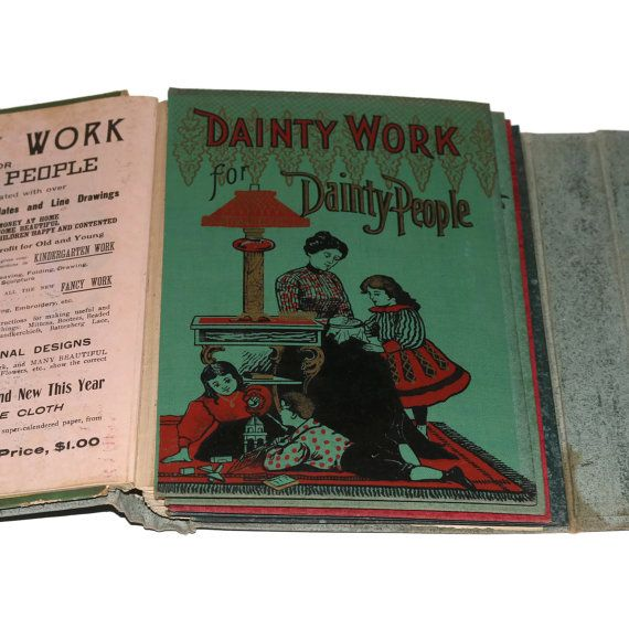 1902 Bookseller's Sample - 6 Children's Books - Color Illustrations by BatnKatArtifacts