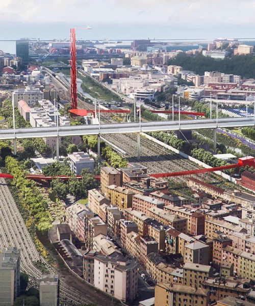 Team Chosen To Revitalize Site Of Genoa's Collapsed Bridge