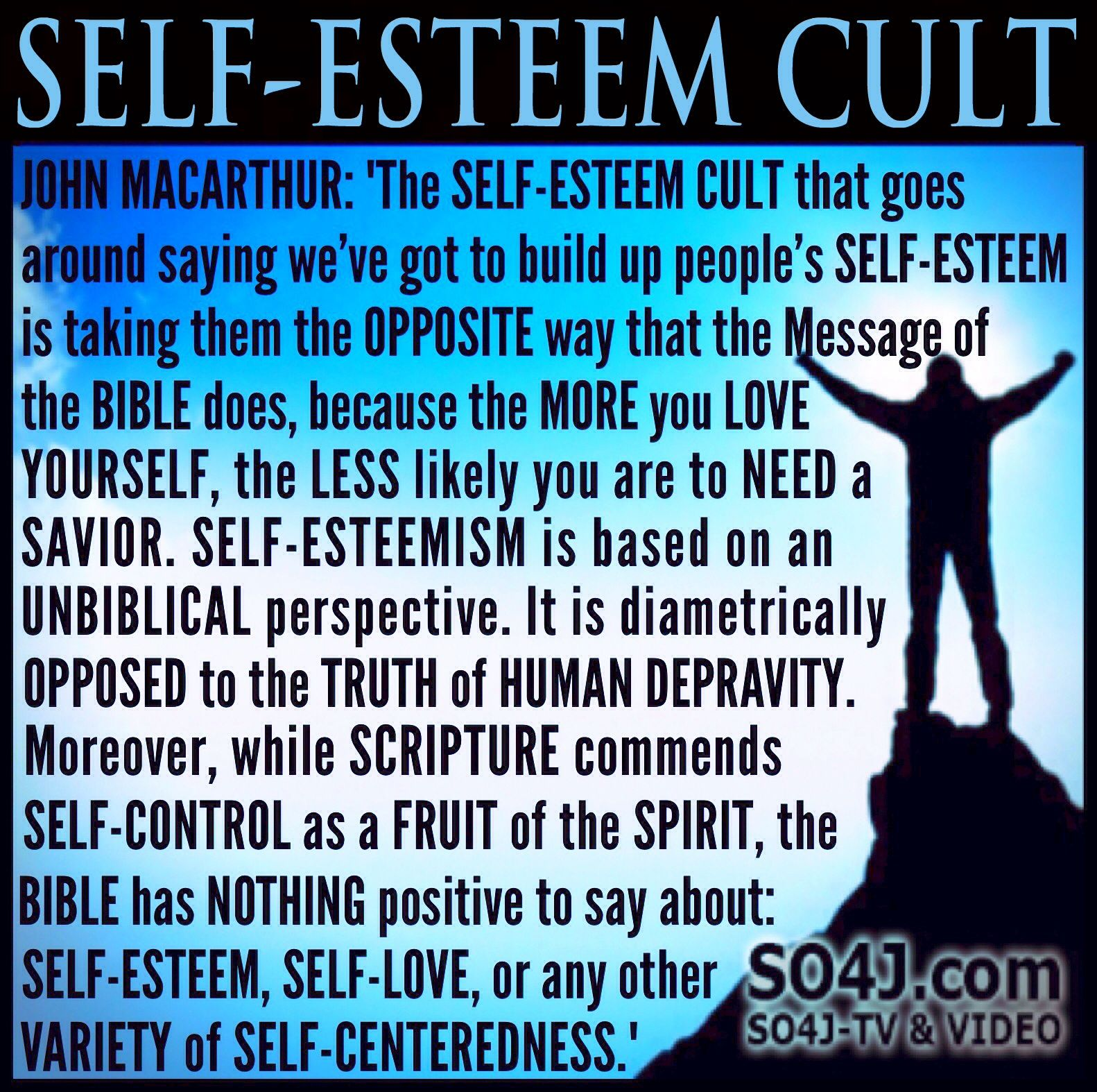 John Macarthur Quotes: Self-Esteem Cult - Quote By John MacArthur