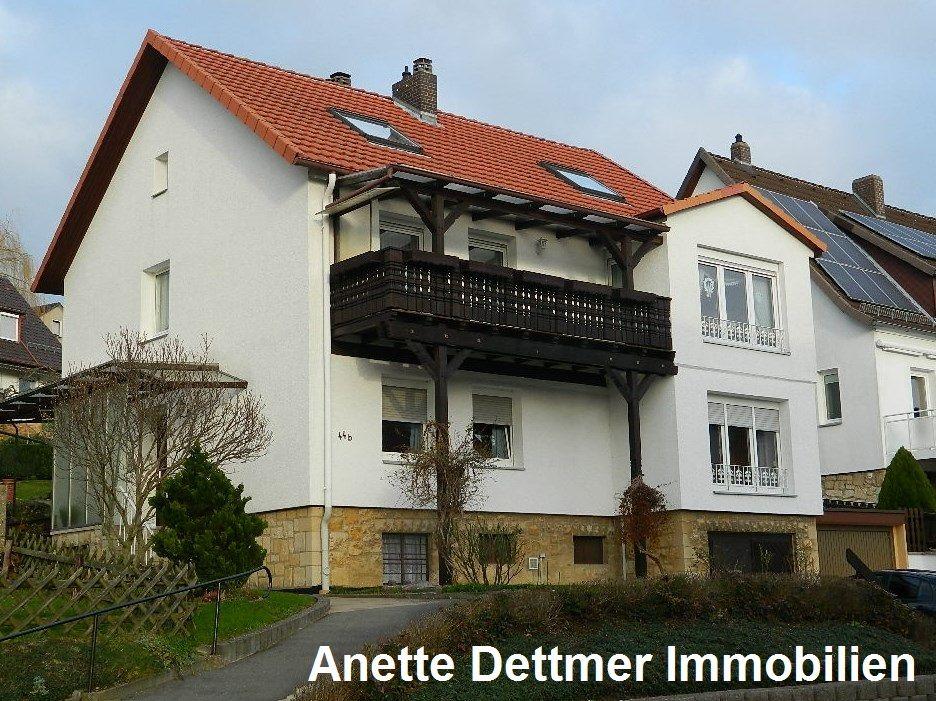 Dettmer Immobilien vermietet sonnige 3 zimmer erdgeschosswohnung mit terrasse in